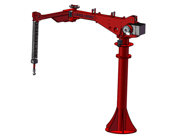 SMS气动折臂机械手-气动平衡吊